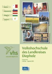 1 2 3 4 6 5 - VHS des Landkreises Diepholz