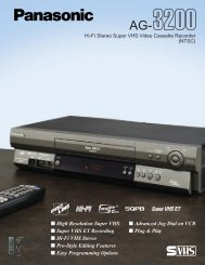 Super VHS ET Recording - Hatch Medical Products