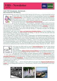 Newsletter Juni 2012.indd - Volkshochschule Waltrop