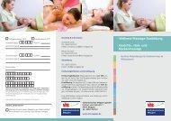 Wellness-Massage-Ausbildung - Gesichts-, Hals