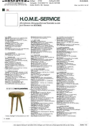 H.O.M.E. - Gorenje