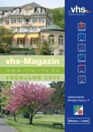 Beruf und Karriere - vhs Rheingau-Taunus eV