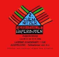 LATERNE-SONDERHEFT 1 ZUR AUSSTELLUNG - Kunstverein ...