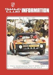 NOTIZ vom - Porsche 914-6 Club e.V.