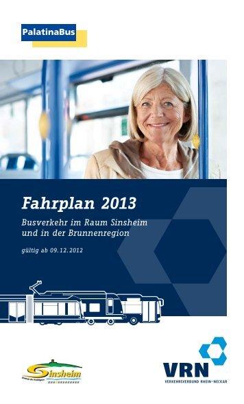Fahrplan 2013 - Palatina Bus
