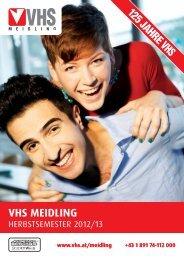 VHS MEIDLING - Verband Wiener Volksbildung
