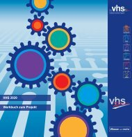 VHS 2020 Werkbuch zum Projekt - Landesverband der ...