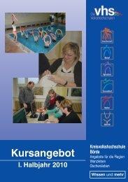 Spezial (Grundbildung) - Kreisvolkshochschule
