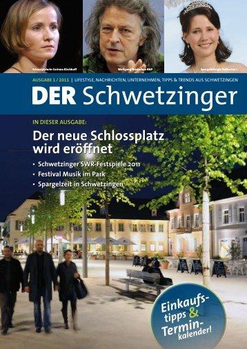 & der neue Schlossplatz wird eröffnet - Schwetzingen