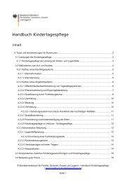 Kapitel als PDF herunterladen - Handbuch Kindertagespflege