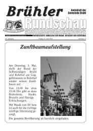 Amtsblatt KW17 2007 - Gemeinde Brühl