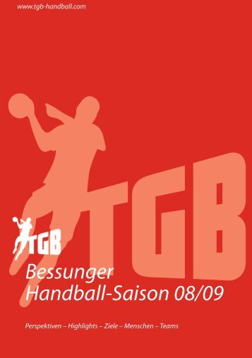 Bessunger Handball-Saison 08/09 - TGB 1865 Darmstadt