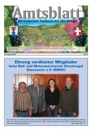 und Motorsportverein Sturmvogel Ebersweier eV (RMSV) - Durbach