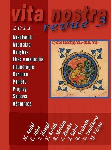 Vita Nostra Revue 3/2011 - Univerzita Karlova