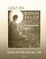 Giáo Án Kinh Pháp Cú – Ấn Bản 2011 Sư Sán Nhiên ... - HoaVoUu