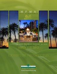 2012 Exhibit Space Application/Contract - Maple Flooring ...