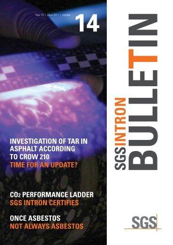 SGS INTRON bulletin 14