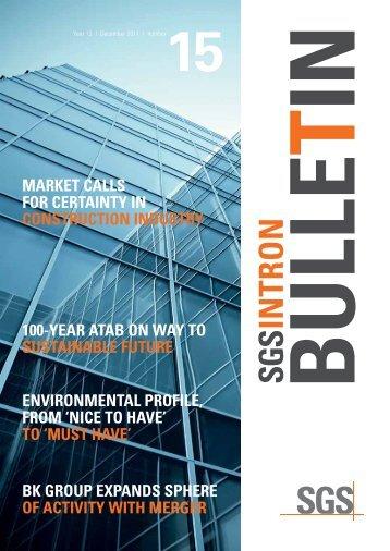 SGS INTRON bulletin 15