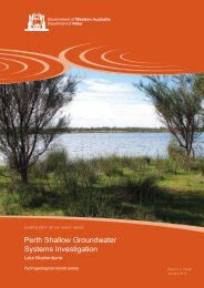 Perth Shallow Groundwater Systems Investigation Lake Muckenburra