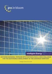 MATCHING MARGINAL TERRAINS WITH PHOTOVOLTAICS