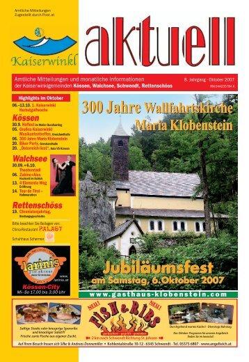 Kaiserwinkl-Aktuell 10/2007 - Gemeinde Walchsee