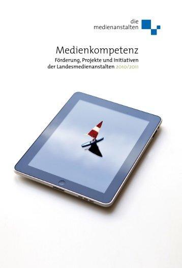Jahrbuch 2010/2011 - Thüringer Landesmedienanstalt