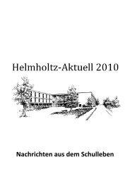 Schulkonferenz - Helmholtz Gymnasium Bonn