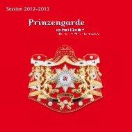 Session 2012-2013 - Prinzengarde der Stadt Düsseldorf
