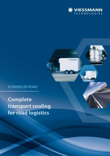 Complete transport cooling for road logistics - viessmann technologies