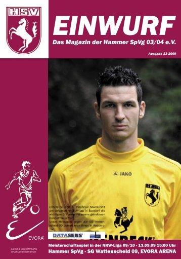 EINWURF Das Magazin der Hammer SpVg 03/04 eV