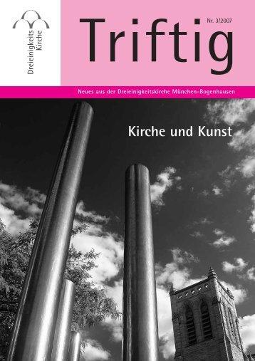 Kirche und Kunst - Dreieinigkeitskirche München Bogenhausen