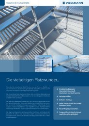 Regalsysteme Prospekt - Viessmann Kältetechnik AG