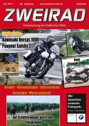 Kawasaki Versys 1000 Peugeot Satelis 2 - ZWEIRAD-online