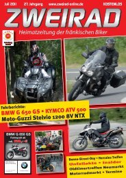 Heimatzeitung der fränkischen Biker - ZWEIRAD-online