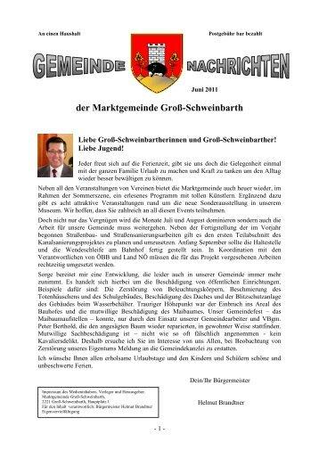 G'mari-schaun 2011 - Marktgemeinde Groß-Schweinbarth
