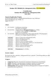 Grundkonzept - Dr. Hans Toman