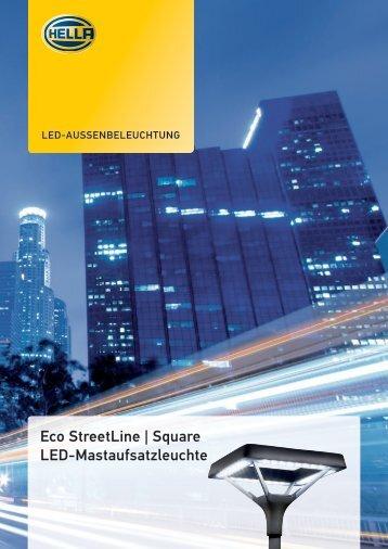 EcoStreetLine Square, PDF - Hella