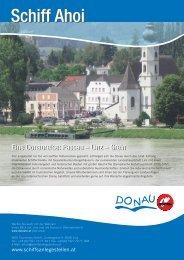 Anlegestellen zwischen Linz und Grein - Donau Oberösterreich