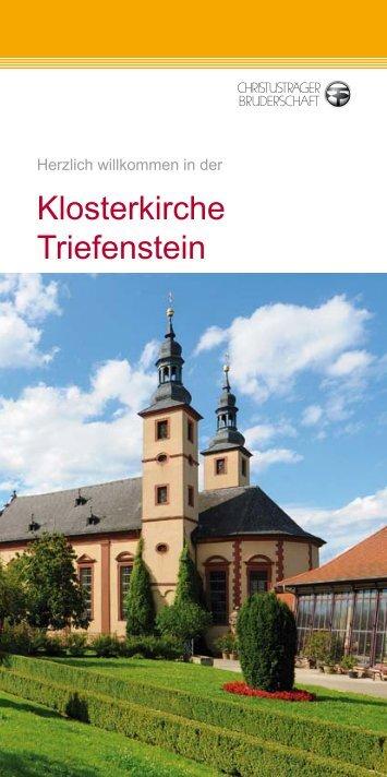 Broschüre mit Erklärungen zur Kirche - Christusträger Bruderschaft
