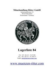 münzen des mittelalters - Münzhandlung Ritter GmbH
