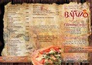 Bajazzo Fiss - Speisenkarte - Haus Pregenzer