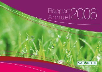 Rapport Annuel2006 - Valorlux