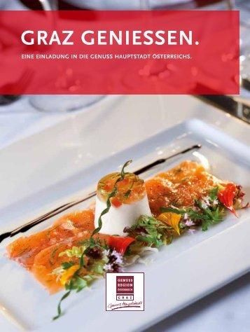 GRAZ Geniessen. - Graz Tourismus