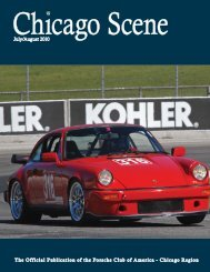 10 July-August Scene WC.indd - Porsche Club of America - Chicago ...