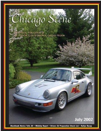 Chicago SceneW 7/02 - Porsche Club of America - Chicago Region
