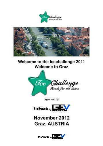 the Icechallenge 2011 Welcome to Graz November 2012 Graz ...