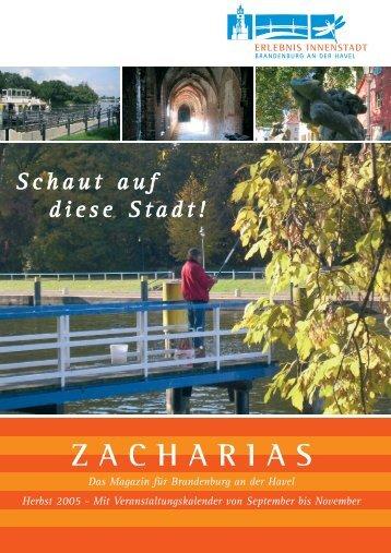 Schaut auf diese Stadt! ZACHARIAS - Brandenburg an der Havel