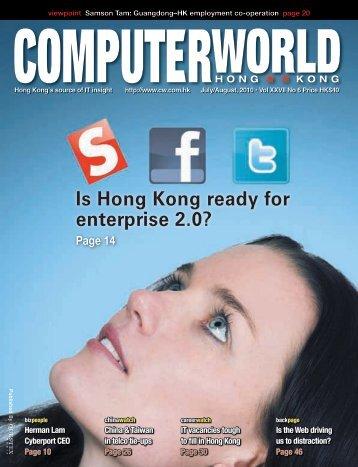 Is Hong Kong ready for enterprise 2.0? - Enterprise Innovation