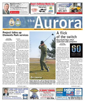 Mar 26 2012 - The Aurora Newspaper