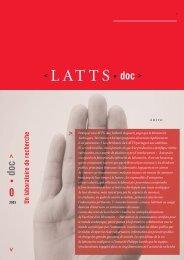 doc - LATTS - CNRS